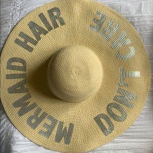 ASOS Mermaid Hair Don't Care Straw Hat